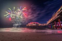 Fireworks Festival Scheveningen (sxdlxs) Tags: scheveningen denhaag thehague fireworks fireworksfestival lights sunset beach
