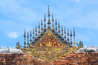 The national museum of Luang Prabang