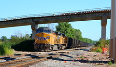 UP 6845, 8482, Stroebe, Fox Crossing, 12 Aug 17 (kkaf) Tags: up foxcrossing stroebe c702 ac4400cw sd70ace