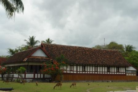 Kesultanan Bima, Sumbawa / Istana