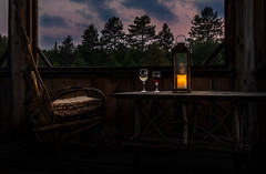 Wine o'Clock at the Cottage (Anvilcloud) Tags: hdr riverwood cottage cottagecountry