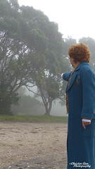 P1450140 (Christen Ann Photography) Tags: cosplay newt newtscamander fantasticbeasts harrypotter potterhead photography portrait beach fog weather 2017 photoshoot cosplayphotoshoot auckland newzealand mist potter magical