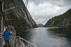 Trollfjorden, Vesterålen, Norway (Ingunn Eriksen) Tags: trollfjorden vesterålen norway nordland christianradich tallship fjord fiord coast norskekysten nikond750 nikon mountain