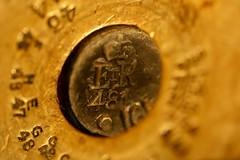481 (AngharadW) Tags: 1916 opticalillusion erii 9 8 7 5 4 3 1 bokeh dof macro angharadw number numbers flickrfriday