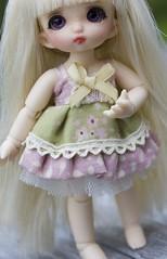Pukipuki Dress (~Akara~) Tags: bjd ball jointed doll fairyland pukipuki puki clothing dress handmade
