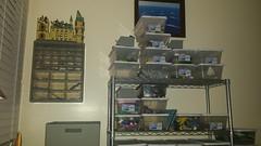 sorting update week 3 (benhardy5) Tags: lego sorting organization harrypotter castle shoeboxideas