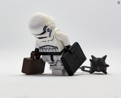 The Daily Grind (jezbags) Tags: lego legos toys toy minifigure minifigures macro macrophotography macrodreams macrolego canon60d canon 60d 100mm closeup upclose starwars star wars legostarwars troopers trooper stormtrooper stormtroopers bags ball chain depressed tired dull daily grind