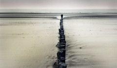 The Hubs of Life (Corinaldesi Roberto) Tags: man solitude mer nord sea ocean mystic sand