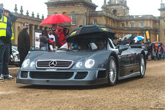 British Weather (Beyond Speed) Tags: mercedes benz clk gtr roadster supercar supercars car cars carspotting nikon amg v12 grey blenheim palace blenheimpalace limited wet