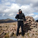 Me on the summit of Beinn a' Chaorainn (1083m), my 94th Munro thumbnail