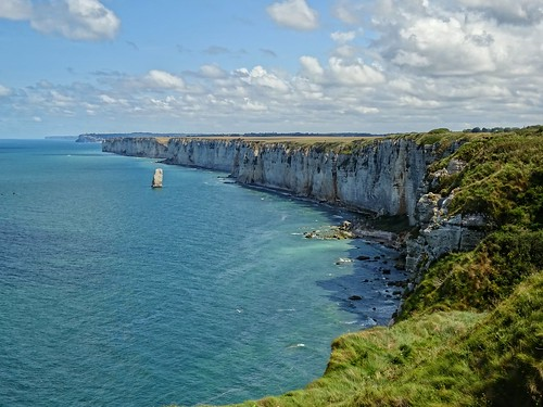 The awe-inspiring cliffs of Etretat
