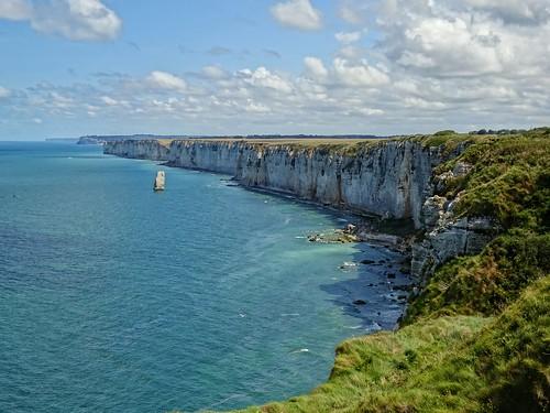 The awe-inspiring cliffs of Etretat