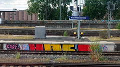 Graffiti in Köln/Cologne 2017 (kami68k -all over-) Tags: köln cologne 2017 graffiti illegal bombing bunt care hacf