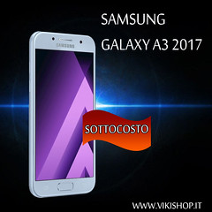 samsung a3 galaxy 2017 (Photo: vikishop italia on Flickr)