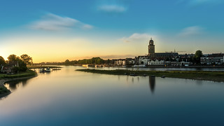 Nice summer picture of Deventer Sky