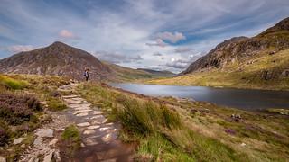 Snowdonia delight ...Llyn Idwal lake