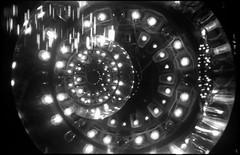 De revolutionibus orbium city museum (argentography) Tags: xenar ferrania p30 citymuseum stlouis missouri midwest kodak retina 118 monochrome abstract