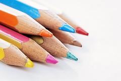 crayons (Sabinche) Tags: crayon macromondays highkey colours