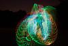 Testing the EL Wire Quadropus (tackyshack) Tags: light painting lightpainting longexposure lightjunkie elwire electroluminescentwire oneexposure lightpainter lightphotography lp tackyshack ©jeremyjackson