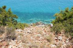 Gjipe, Dhërmi, Albania (Tokil) Tags: gjipe albania balkans east trip travel colors sea mediterranean summer nature blue green water vegetatiion rocks stones mountain shqipëri shqipëria nikond90