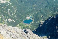 DSC01357 (::Krzysiek::) Tags: dolinapięciustawówspiskich durnyszczyt małydurnyszczyt terinka dolinamałejzimnejwody malástudenádolinatatry malýpyšnýštít tatrywysokie tatrysłowackie słowacja slovensko slovenskárepublika highmountains mountains góry valley dolina top summit peak szczyt przełęcz grań niebo sky krajobraz landscapes landscape karpaty polska poland wspinanie alpinizm climbing