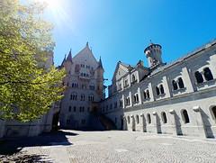 "Schloß Neuschwanstein (Steve only) Tags: htcrecamera landscape sky germany schlosneuschwanstein schlossneuschwanstein neuschwansteincastle ""new swan castle"""