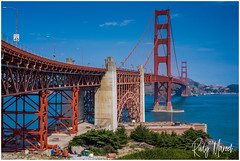 Postcard Greetigs From San Francisco (RudyMareelPhotography) Tags: california goldengatebridge northamerica usa sanfrancisco streetview flickrclickx flickr ngc