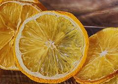 Lemon Slides (Helen Orozco) Tags: lemons sliderssunday hss dried fruit phoroshop processed sliced