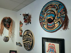 Bill Reid Gallery of Northwest Coast Art (Mariko Ishikawa) Tags: canada britishcolumbia vancouver museum art gallery firstnations heritage history sculpture giftshop