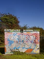 electric substation (dam design) Tags: substation electric bingham nottingham nottinghamshire graffiti