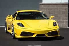 RR430 (Hunter J. G. Frim Photography) Tags: supercar colorado ferrari f430 v8 italian black yellow giallo nero coupe ferrarif430 hre adv1
