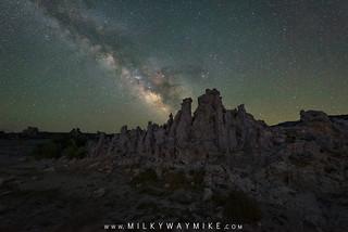 South Tufa Milky Way - Blend Tutorial Below