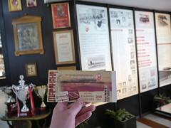 Ticket to Red Star Stadium