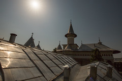 Roofs of the Mysterious City 1 (sistawar) Tags: mysteriouscity oradea holycross monastery romania rumunia