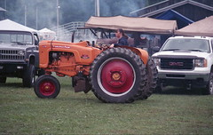 Pioneer Steam & Gas Engine Society NW PA (rentavet) Tags: minoltamaxxum5000 rokinar70200mm konicacenturia400asa saegertownpa pioneersteamgasenginesocietynwpa analog tractorshow wot womenontractors