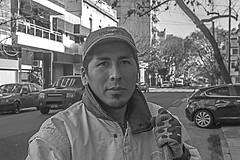 """Omar """"El barrendero"""" (Wal Wsg) Tags: omar elbarrendero omarelbarrandero thesweeper hombre man men mancleaning trabajador worker work working workingman eltrabajador argentina argentinabsas buenosaires caba capitalfederal ciudadautonoma ciudaddebuenosaires villacrespo dia day street streets streetsbw callejeando calle canoneosrebelt3 byn bw strange retrato retratos retratobyn portrait portraits portraitbw"""