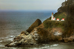 Heceta Head Lighthouse (Ian Sane) Tags: ian sane images hecetaheadlighthouse yachats florence oregon pacific ocean opened1894 cliff landscape photography canon eos 5ds r camera ef100400mm f4556l is usm lens