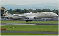 (Riik@mctr) Tags: manchester airport egcc a6blf airplane etihad airways boeing 787 msn 39651 dreamliner