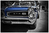 Black and Blue (Silverio Photography) Tags: pontiac gto american muscle car photoshop elements topaz adjust hdr canon 60d 24mm pancake primelens 28 boston newengland massachuetts summer vintage seaport