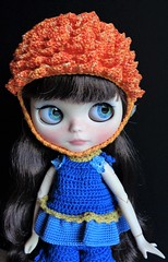Mytyl wearing the dahlia helmet