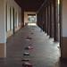 claiming a spot (ed.50) Tags: light shadows newmexico santafe walkway nikon3300 white ussouthwest
