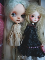 My first Katinka doll, Ondine my favorite, and Déborah my first BDJ from Katinkadoll too...