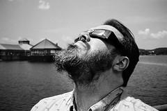 Eclipse Watching (jhunter!) Tags: kodaktrix eclipse contaxt2 kodakhc110