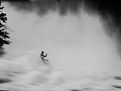 snap the storm (René Mollet) Tags: stormy storm waterfall snap wather higgkey man rheinfall blackandwhite bw street streetphotography streetart silhouette renémollet