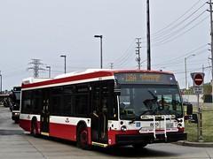 Toronto Transit Commission 8670 (YT   transport photography) Tags: ttc toronto transit commission nova bus lfs