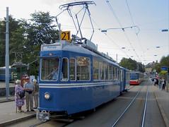 Tram Museum Zürich Museumslinie 21 (hrs51) Tags: zürich zurich vbz trammuseum tram tmz switzerland streetcar strassenbahn schweiz museumslinie museum historical 21 suisse svizzera depot burgwies public transport stoll hans rudolf hansruedi