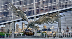 Fast and Physical (4 Pete Seek) Tags: falcon riseup steelbird atlanta atlantageorgia atlantaurbanphotowalkers reflection stadium coliseum mercedesbenzstadium downtown downtownatlanta atlantafalcons atlantafalconsstadium variotessar16704za variotessarte41670 sonycarlzeiss