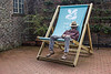 Snooze (alison's daily photo) Tags: snooze deckchair nationaltrust ruffordoldhall 117picturesin2017 101 dreamy