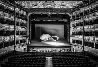 Inside La Fenice, Venice