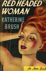 Avon Books 22 - Katherine Brush - Red-Headed Woman (swallace99) Tags: avon vintage 40s satire paperback isadorsteinberg